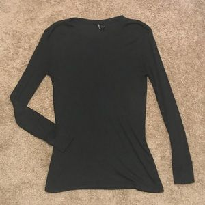Urban Outfitters black long sleeve tee